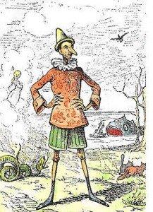 Pinocchio ou l'ange humain dans Recherches & Reflexions PinocchioEnrico-Mazzanti-1883-217x300