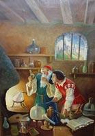 Axiomes alchimiques dans Recherches & Reflexions alchemistandapprentice_3